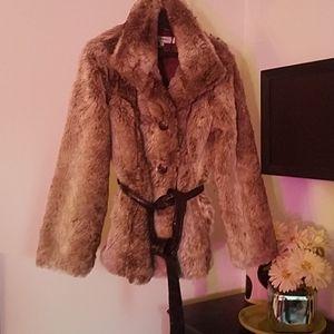 Hawke & Co. Faux Fur Coat